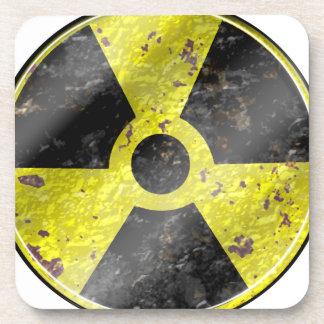 Muestra de los tiempos - radiación del arma nuclea posavaso