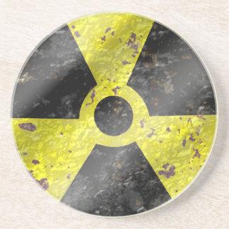 Muestra de los tiempos - radiación del arma nuclea posavasos manualidades