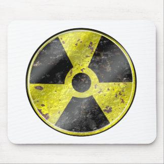 Muestra de los tiempos - radiación del arma mousepads