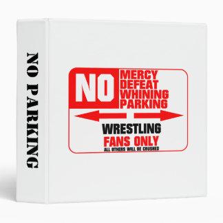 Muestra de lucha del estacionamiento prohibido