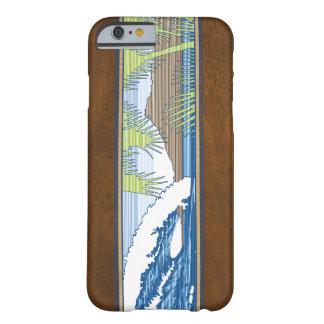 Muestra de madera hawaiana de la resaca de Moana Funda De iPhone 6 Barely There