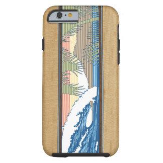 Muestra de madera hawaiana de la resaca de Moana Funda De iPhone 6 Tough