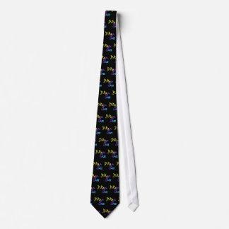 Muestra de neón de la barra del jazz corbatas personalizadas