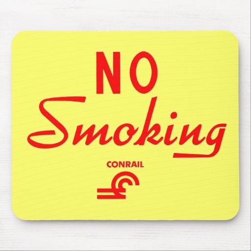 Muestra de no fumadores de Conrail Alfombrilla De Ratones
