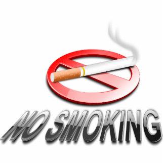 Muestra de no fumadores escultura fotográfica