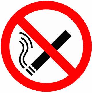 Muestra de no fumadores - señalización BRITÁNICA Escultura Fotográfica