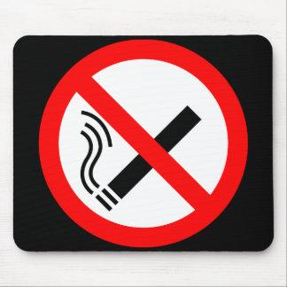Muestra de no fumadores - señalización BRITÁNICA Mousepad