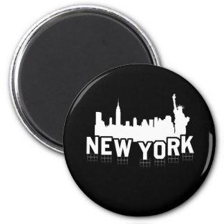 Muestra de Nueva York Imanes Para Frigoríficos