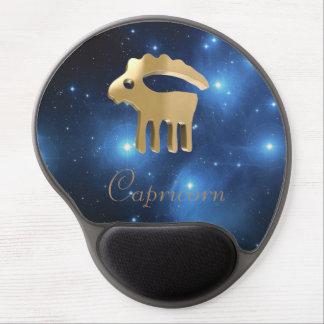 Muestra de oro del Capricornio Alfombrillas Con Gel