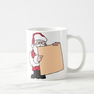 Muestra de Papá Noel Tazas De Café