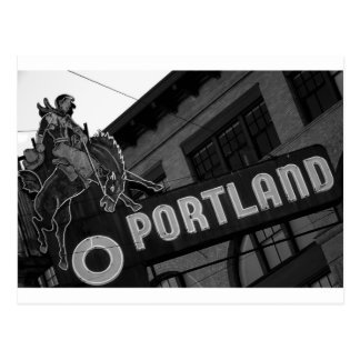 Muestra de Portland Oregon Tarjeta Postal