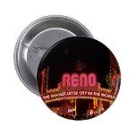 Muestra de Reno Pin Redondo 5 Cm