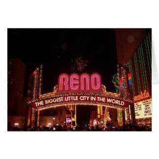 Muestra de Reno Felicitación