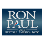 Muestra de Ron Paul 2012 Poster