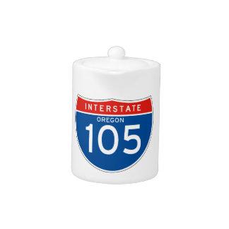 Muestra de un estado a otro 105 - Oregon