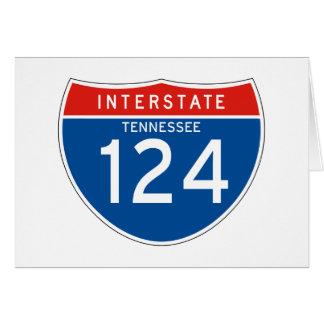 Muestra de un estado a otro 124 - Tennessee Felicitación