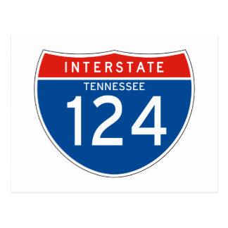 Muestra de un estado a otro 124 - Tennessee Postal