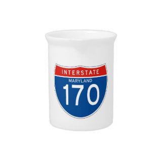 Muestra de un estado a otro 170 - Maryland Jarrón