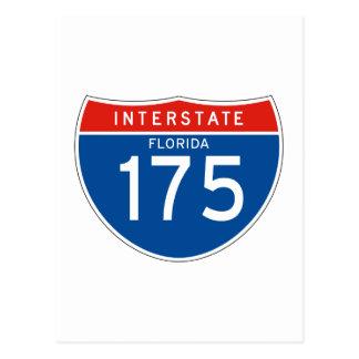 Muestra de un estado a otro 175 - la Florida Tarjetas Postales