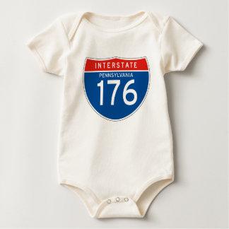 Muestra de un estado a otro 176 - Pennsylvania Body De Bebé