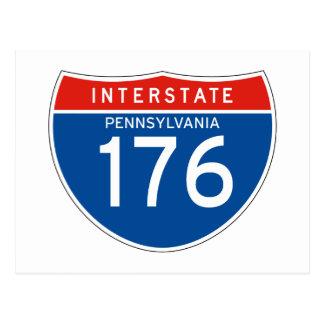 Muestra de un estado a otro 176 - Pennsylvania Postal