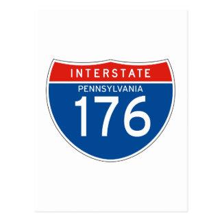 Muestra de un estado a otro 176 - Pennsylvania Tarjeta Postal