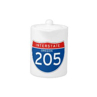 Muestra de un estado a otro 205 - Oregon