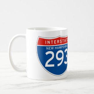 Muestra de un estado a otro 293 - New Hampshire Taza De Café