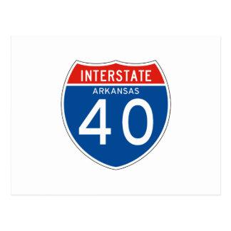 Muestra de un estado a otro 40 - Arkansas Postales