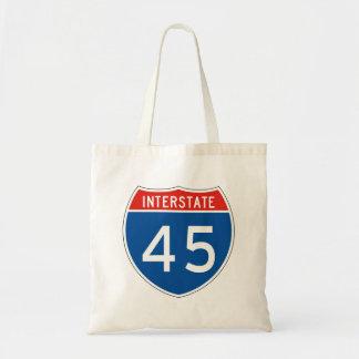 Muestra de un estado a otro 45 bolsa de mano