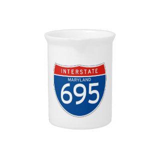 Muestra de un estado a otro 695 - Maryland Jarras Para Bebida