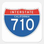 Muestra de un estado a otro 710 - California Colcomanias Cuadradases