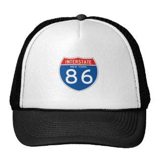Muestra de un estado a otro 86 - Nueva York Gorro De Camionero