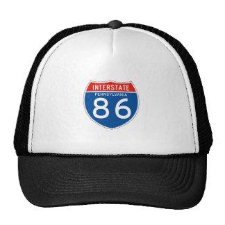 Muestra de un estado a otro 86 - Pennsylvania Gorras De Camionero