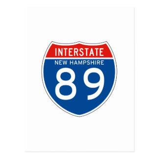 Muestra de un estado a otro 89 - New Hampshire Postales