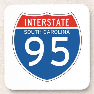 Muestra de un estado a otro 95 - Carolina del Sur Posavasos