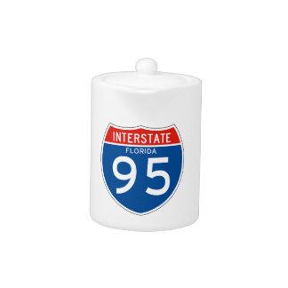 Muestra de un estado a otro 95 - la Florida