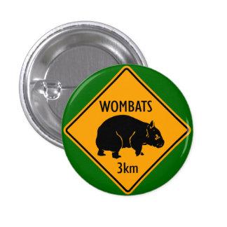 Muestra de Wombat Chapa Redonda 2,5 Cm