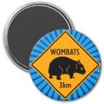 Muestra de Wombats del australiano Imanes Para Frigoríficos