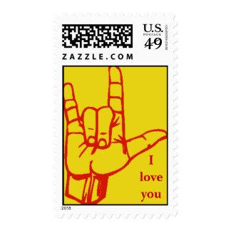Muestra del amor sellos