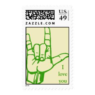 Muestra del amor (verde) envio