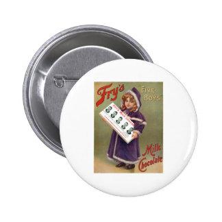 Muestra del anuncio del chocolate con leche de los pin