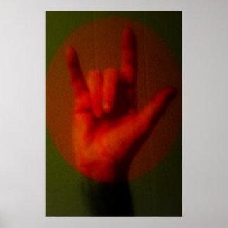 Muestra del ASL te amo Poster