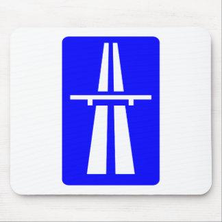 Muestra del Autobahn Tapetes De Raton