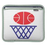 Muestra del baloncesto funda para iPads
