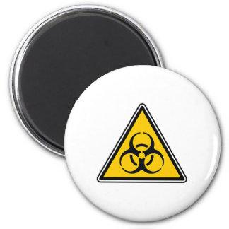 Muestra del Biohazard Imanes Para Frigoríficos