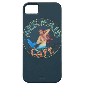 Muestra del café de la sirena iPhone 5 Case-Mate carcasas