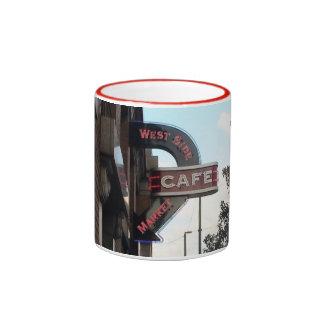 Muestra del café del mercado, taza de Cleveland OH