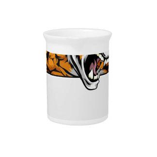 Muestra del carácter del tigre jarron