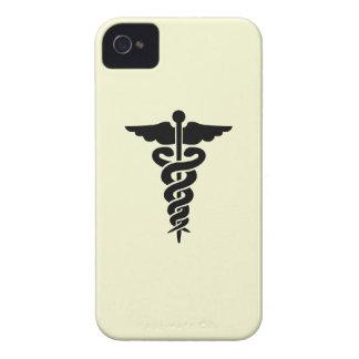 Muestra del caso del iPhone del médico del MD de A iPhone 4 Coberturas